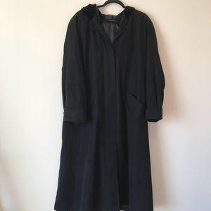Jackets & Blazers - Hooded Trench Coat
